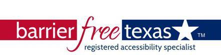Barrier Free Texas Mobile Logo